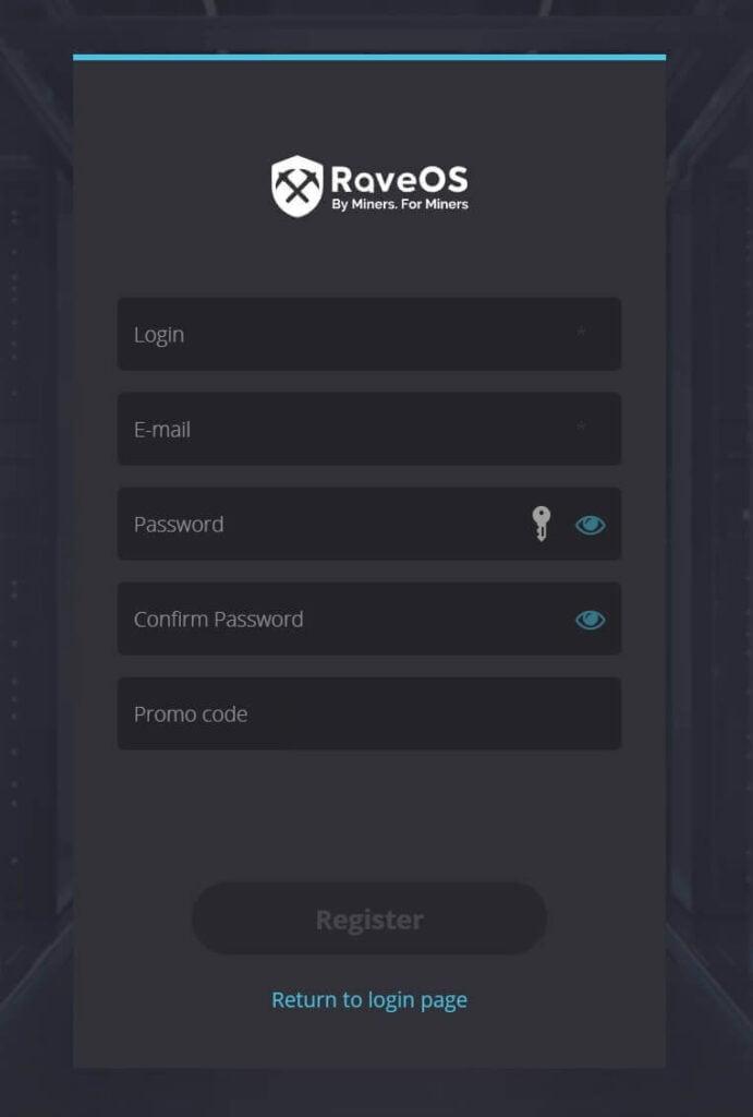raveos registration